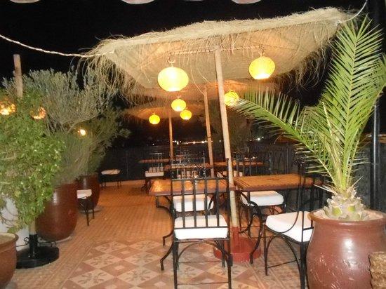 Riad Andalla: terrasse