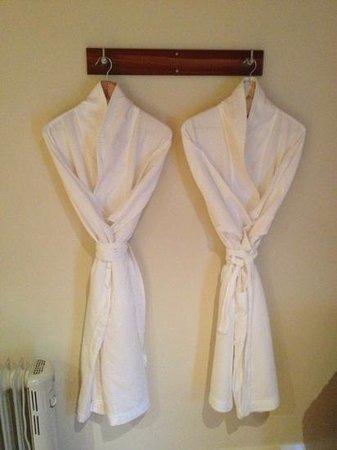 Ellensbrook Cottages: Ellen's cottage - His & Her's robes.