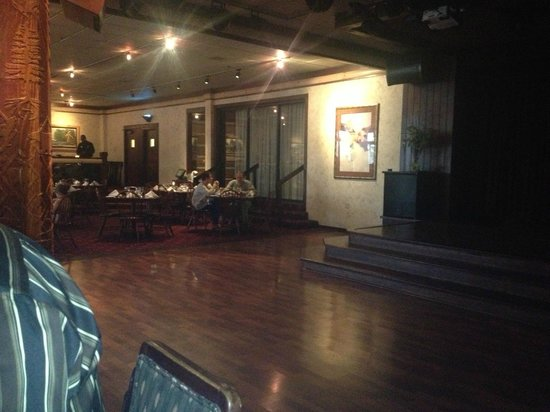 The Bar Dance Floor And Restaurant Are All Connnected