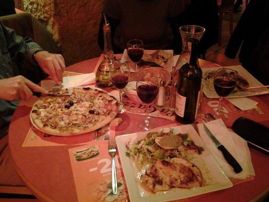 Piazza Papa : le bon diner