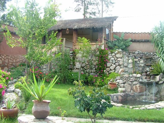 La Capilla Lodge: Jardín
