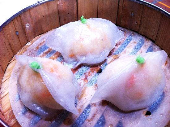 Chuck Norris Dim Sum: Wasabi Shrimp Volcano