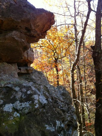Petit Jean Campground: Natural Bridge, Seven Hollows Trail