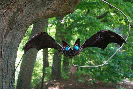 Bookworm Gardens: Watch out for bats!