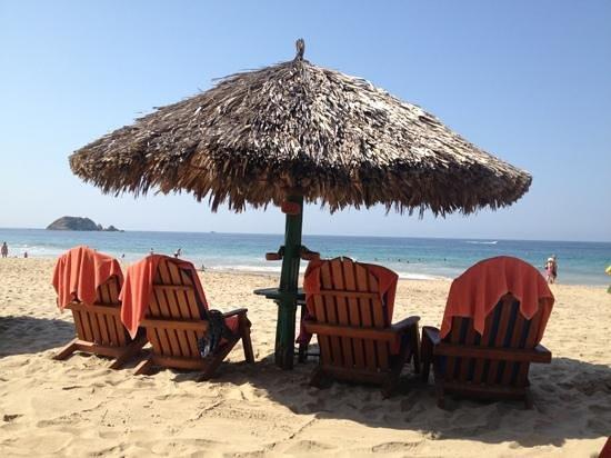 Sunscape Dorado Pacifico Ixtapa: la playa