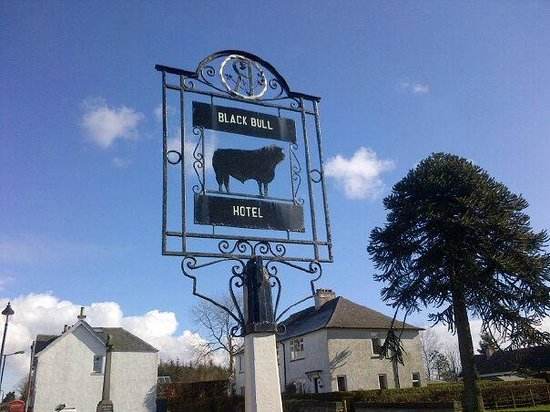 The Black Bull Hotel : Orginal sign