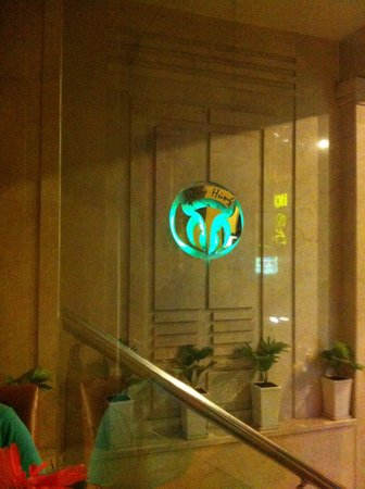 Quy Hung Hotel : Hotel Logo - Well Lit for the night