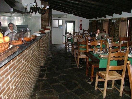 Monsaraz, Portugal: El comedor
