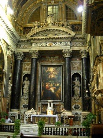 Chiesa del Gesu e dei Santi Ambrogio e Andrea : P. P. Rubens - Circoncisione