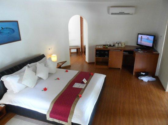 Kuramathi Island Resort: Chambre