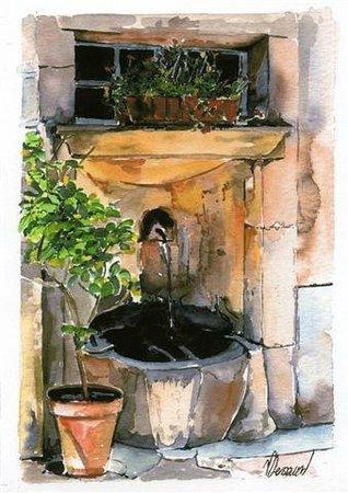 Les Tables de la Fontaine: Logo des Tables de la fontaine