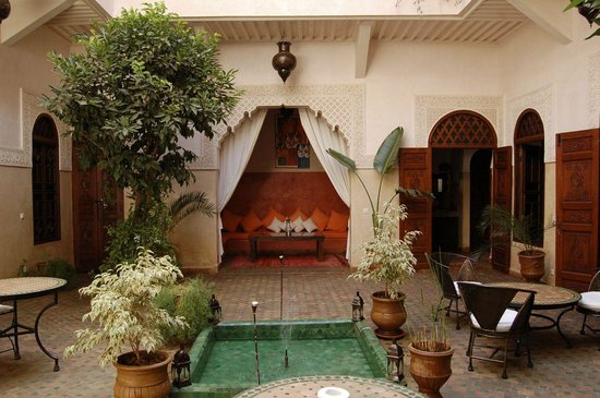 Riad Massiba: Le Patio