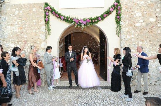Villa Euchelia Resort: Cerimonia al Monacato di Villa Euchelia