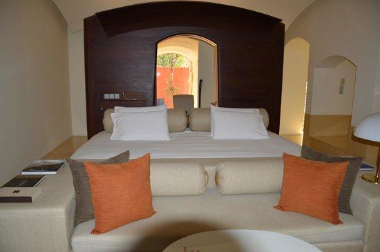 Hyatt Regency Hua Hin: Bett ca. 3,5m breit