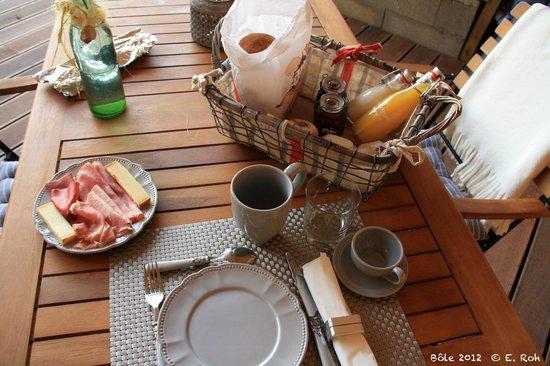 La Tourelle : A ne surtout pas manquer : le petit déjeuner !