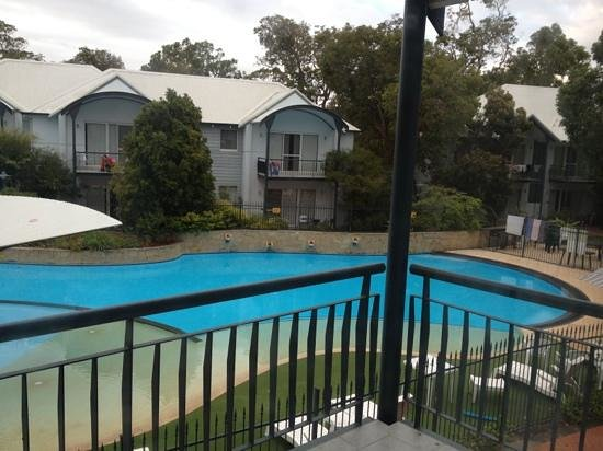 Mandurah Quay Resort: View from apartment balcony.