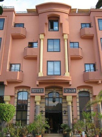 Amani Hôtel Appart: Ingresso