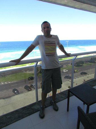 Brisa Barra Hotel: Varanda