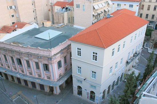 Plaka Hotel: Standard Room - View From Balcony
