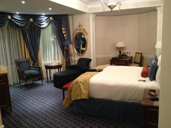 Fairmont Grand Hotel Kyiv: deluxe room