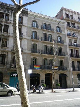 Hotel Advance: fachada