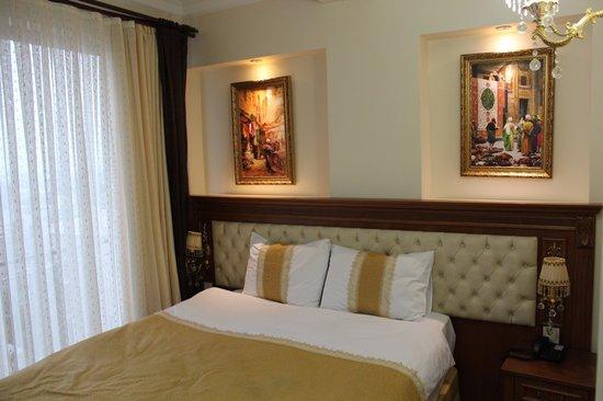 Blue Istanbul Hotel: estetik bir yatak