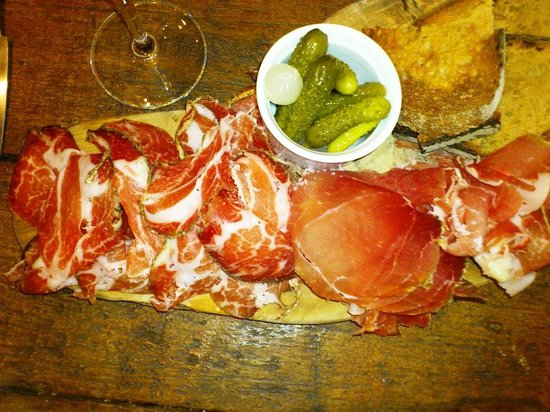 Champagne+Fromage - Covent Garden: Corsican Cured Meat Selection
