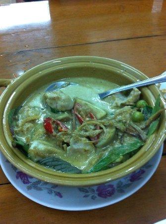 Chote Chitr: 魚のグリーンカレー