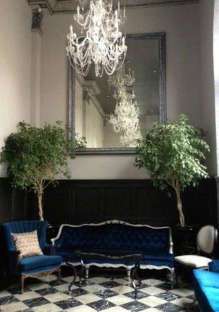 """The Culver Hotel: Beautiful """"parlor"""" at The Culver; felt like I was in Paris."""
