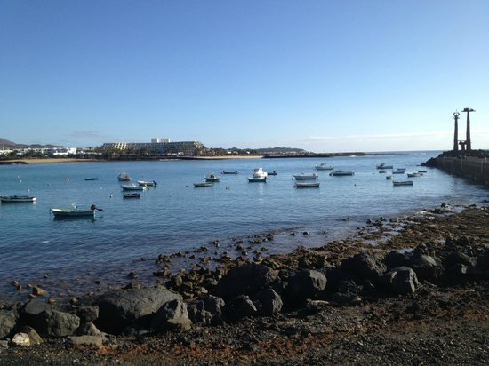 Melia Salinas - Adults recommended: vista del hotel desde el puerto