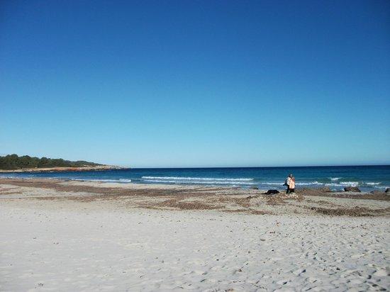 Orient Beach: Sa coma beach 150 yards away