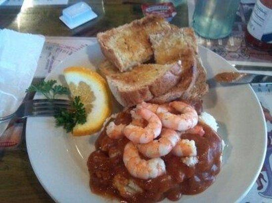 Big Easy Deli: Shrimp & Grits