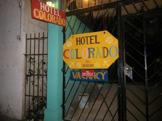 Hotel Colorado: ingresso