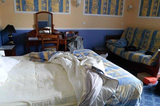Hôtel Les 13 Assiettes : la chambre