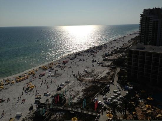 Hilton Sandestin Beach, Golf Resort & Spa: our view from the 14th floor.