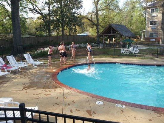 Hawthorn Suites by Wyndham Columbus Fort Benning : Our pool is open