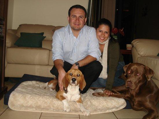 Giardino Tropicale: Familia González Sánchez