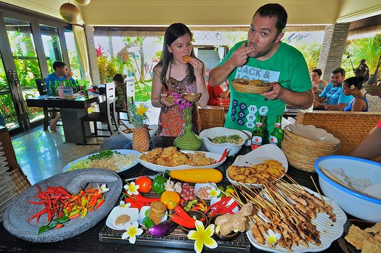 The Zala Villa Bali: Food in villa