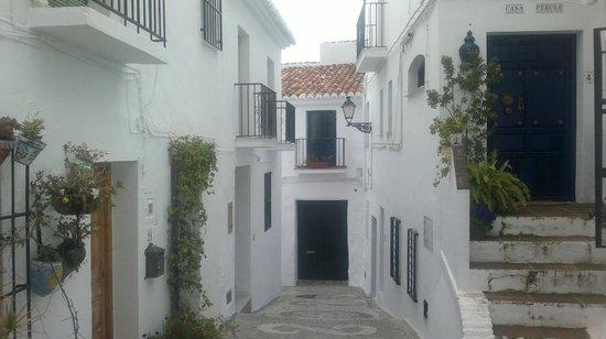 Hotel Villa Frigiliana: pueblo