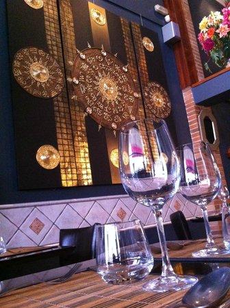 Tilak Restaurant: Very nice decoration from Thailand