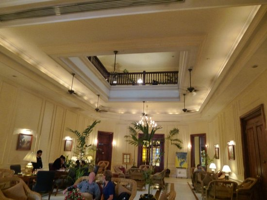 The Strand Yangon - TEMPORARILY CLOSED: Main lobby area