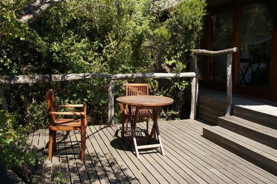 Pumba Private Game Reserve: Chalet - Platz zum Relaxen
