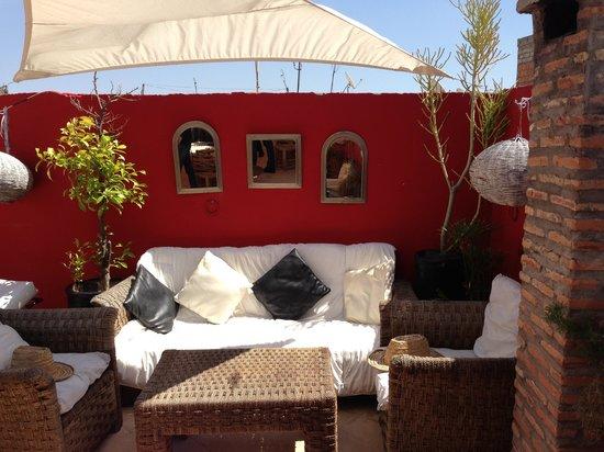 Riad Nejma Lounge: TOIT DU RIAD