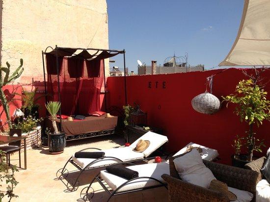 Riad Nejma Lounge : TOIT DU RIAD