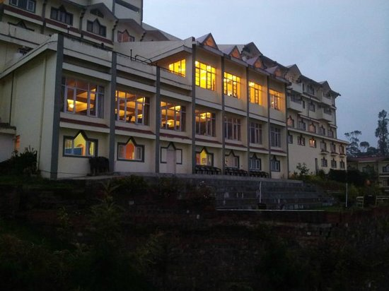 Ooty - Elk Hill, A Sterling Holidays Resort: Valley facing view of main block