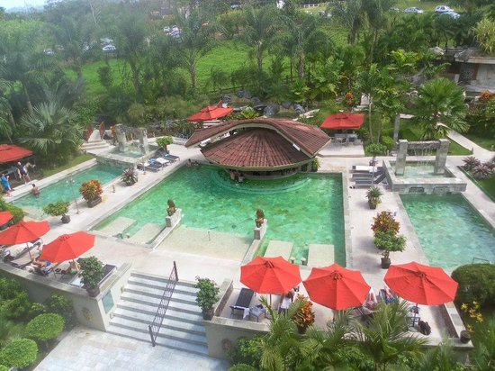 The Royal Corin Thermal Water Spa & Resort: Balcony sights!