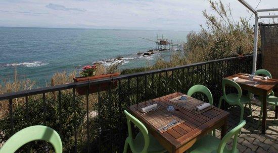 La Balena - Osteria di Mare: un balcone sul mare