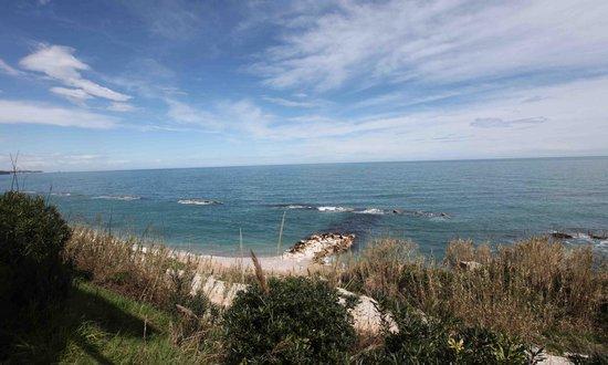 La Balena - Osteria di Mare: Panorama stupendo che si vede dalla terrazza