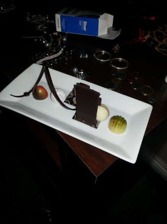 The Woodlands Resort: One of the wedding desserts