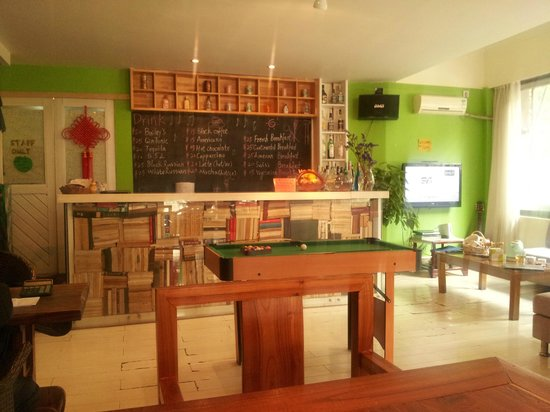 Green Forest Hostel: Zona compartida